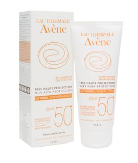 Kem chống nắng Avène Protection Mineral Lotion 50+ - 100ml