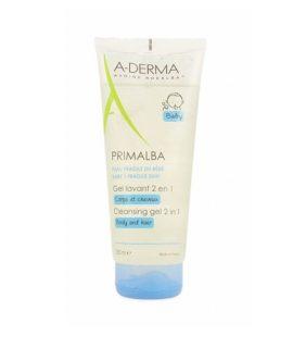 Sữa tắm A Derma Primalba Cleansing Gel 2 In 1 - 200ml