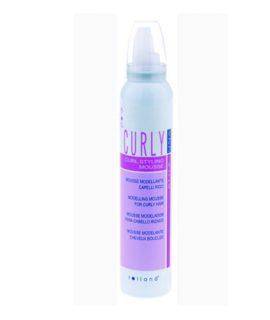 Gôm xịt tóc Rolland Curly Styling Mousse - 200ml