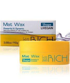 Sáp vuốt tóc Livegain Premium Rich Mat Wax - 110g