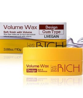Sáp vuốt tóc Livegain Premium Rich Volume Wax - 110g