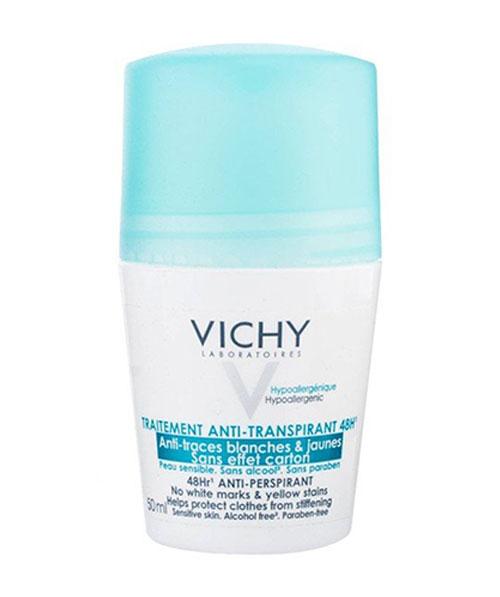 Lăn khử mùi Vichy Déodorant Anti-Transpirant Treatment - 50ml