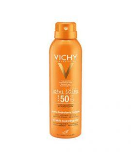 Xịt chống nắng toàn thân Vichy Ideal Soleil Invisible Hydrating Mist SPF50