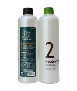 Thuốc uốn Livegain Premium Aqua Cysteine Wave Lotion 400ml