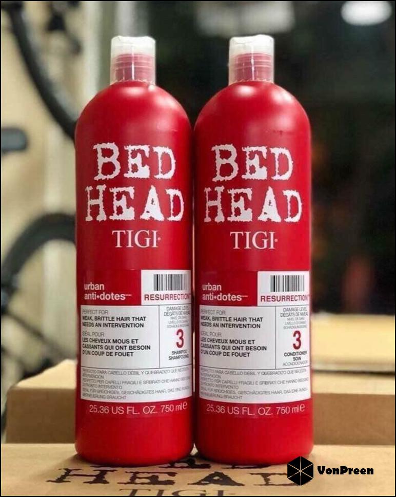 Dầu cặp Tigi đỏ cho tóc hư tổn