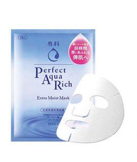 Mặt nạ cấp ẩm Senka Perfect Aqua Rich Extra Moist Mask – 1 hộp