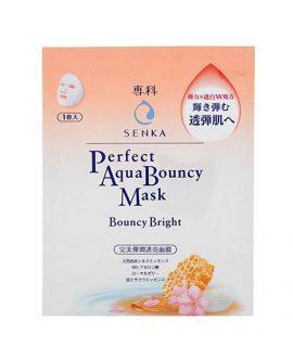 Mặt nạ giấy Senka Perfect Aqua Bouncy Mask Bouncy Bright – 1 miếng
