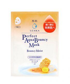 Mặt nạ dưỡng da Senka Perfect Aqua Bouncy Mask Bouncy Moist – 1 miếng x25ml