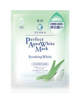 Mặt nạ dưỡng da Senka Perfect Aqua Soothing White Mask – 1 miếng