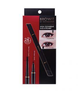Bút kẻ mắt 2 đầu Browit HighTechnique Duo Eyeliner 0.5ml + 0.14g