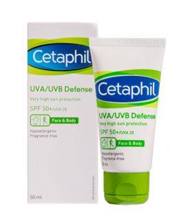 Kem chống nắng Cetaphil UVA/UVB Defense Very High Sun Protection SPF50+ 50ml