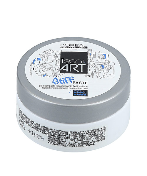 Sáp vuốt tóc Loreal Tecni Art Stiff Paste – 75ml