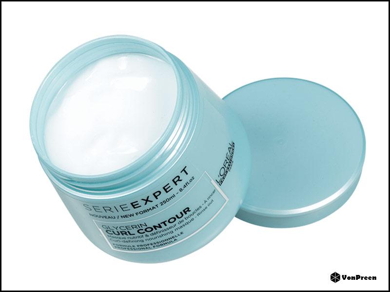 Dầu hấp tóc Loreal Serie Expert Glycerin Curl Contour Masque - 250ml