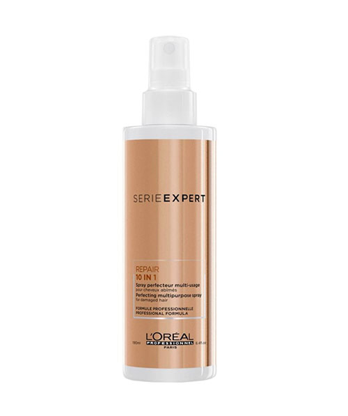 Xịt dưỡng tóc Loreal Serie Expert Repair 10 in 1 Perfecting Multi-Purpose Spray – 190ml
