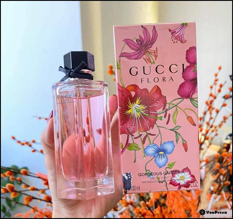 Nước hoa nữ Gucci Flora Gorgeous Gardenia EDT - 100ml
