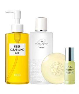 Bộ chăm sóc da DHC Olive Skincare Set - 4 pcs