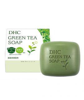 Xà bông rửa mặt DHC Green Tea Soap - 80g chính hãng