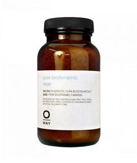 Bột cây xô thơm sinh học năng lượng kiểm soát dầu cho da đầu Oway Pure Biodynamic Sage - 50g