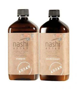 Cặp dầu gội xả phục hồi tóc Nashi Argan - 200ml