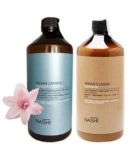 Dầu gội xả chống rụng tóc Nashi Argan Capixyl - 1000ml