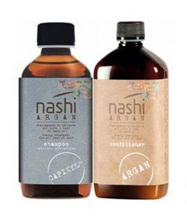 Cặp gội xả chống rụng tóc Nashi Argan Capixyl - 200ml