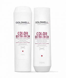 Dầu gội xả siêu dưỡng màu nhuộm Goldwell Dualsenses Color Extra Rich Brilliance - 250ml