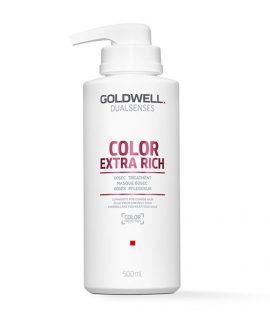 Dầu hấp siêu dưỡng màu Goldwell Dualsenses Color Extra Rich 60sec Treatment - 500ml