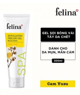 Gel tẩy tế bào chết Felina Exfoliating Peeling Gel - 300ml