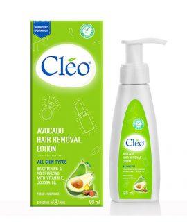 Kem tẩy lông dạng sữa cho mọi loại da Cleo Avocado Hair Removal Lotion - 90ml