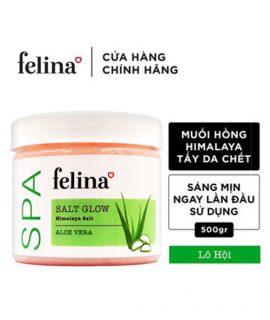 Muối tắm tẩy tế bào chết Felina Aloe Vera – 500g