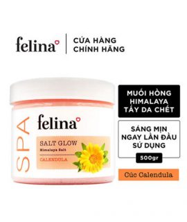 Muối tắm tẩy tế bào chết Felina Calendula - 500g
