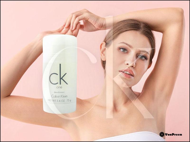 Lăn khử mùi Unisex Ck One Deodorant Stick - 75g