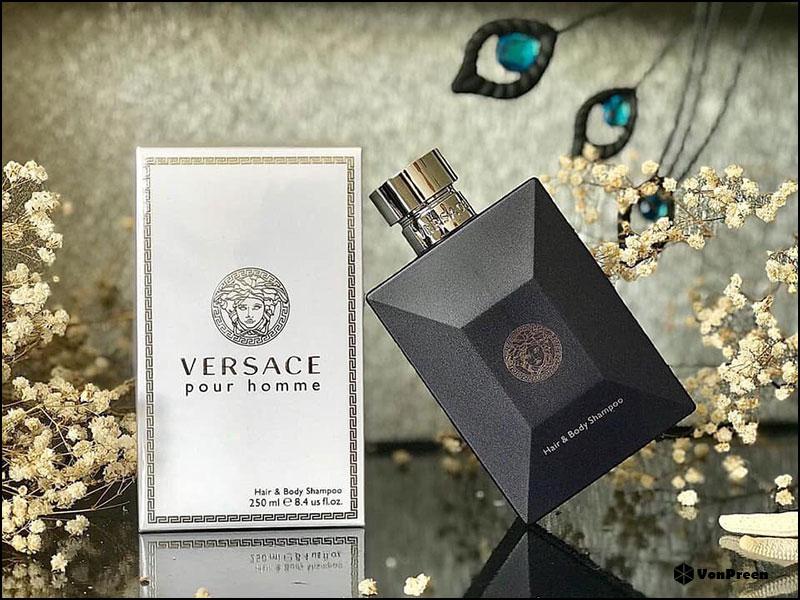 Sữa tắm gội toàn thân Versace Pour Homme Hair & Body Shampoo - 250ml