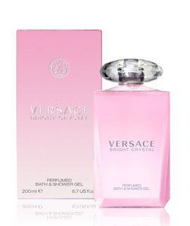 Sữa tắm hương nước hoa nữ Versace Bright Crystal Bath And Shower Gel - 200ml